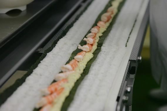 巻き寿司製造